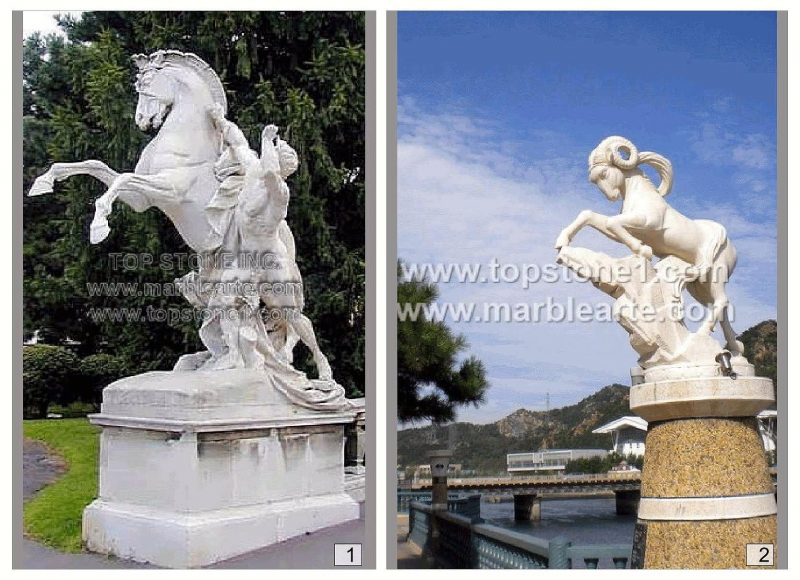 Marble Statues 1