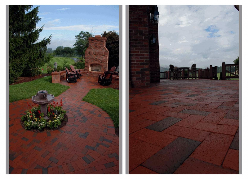 Pine Hall Brick_Pathway Full Range pavers