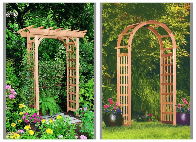 Rustic Natural Cedar_Arbors