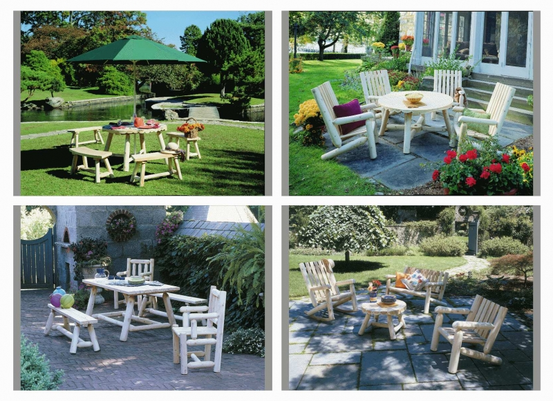Rustic Natural Cedar_Dining Sets