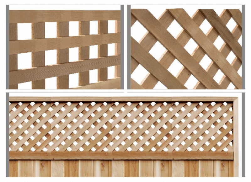 Western Red Cedar Lattice